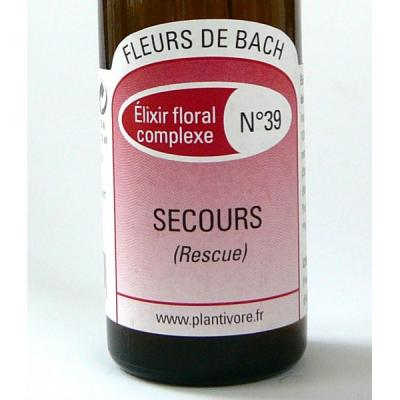 .Secours (Rescue), 20  ml, Hautes-Alpes, Composition n°39, BIO