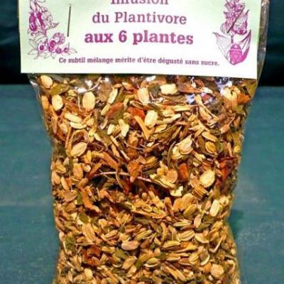 Infusion du Plantivore, 50 g, Hautes-Alpes