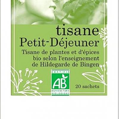 Tisane Hildegarde de Bingen, petit déjeuner, 20 sachets