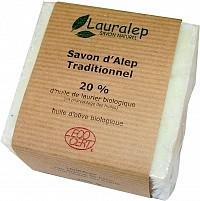 Savon Alep 20% bio 200g, Huile Olive première pression