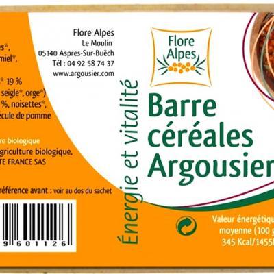 Barre de céréales à l'argousier, 40 g