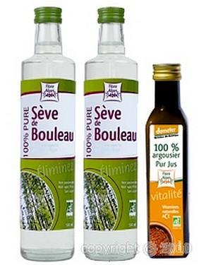 Argousier-bouleau, Cure complète