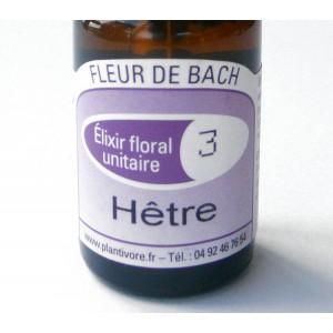 Unitaire n° 03 : Hêtre (Beech), 10 ml, Hautes-Alpes, BIO