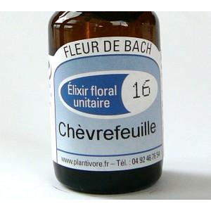 Unitaire n° 16 :Chèvrefeuille (Honey suckle), 10 ml, Hautes-Alpes, BIO