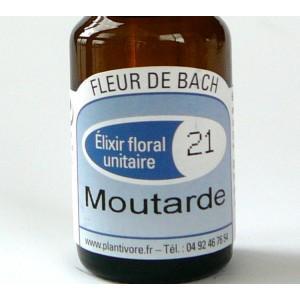 Unitaire n° 21 : Moutarde (Mustard), 10 ml, Hautes-Alpes, BIO