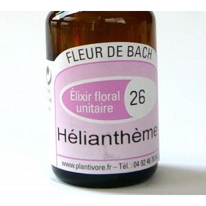 Unitaire n° 26 : Hélianthème (Rock rose), 10 ml, Hautes-Alpes, BIO