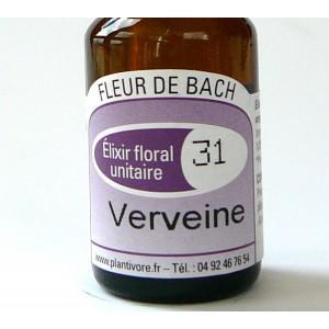 Unitaire n° 31 : Verveine (Vervein), 10 ml, Hautes-Alpes, BIO