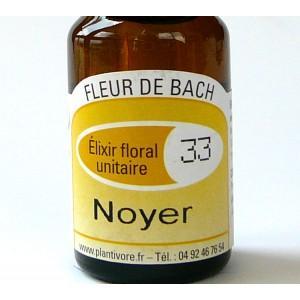 Unitaire n° 33 : Noyer (Walnut), 10 ml, Hautes-Alpes, BIO