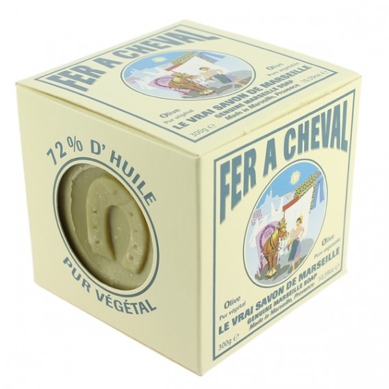 Le savon de marseille emballe