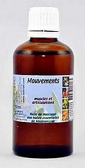 Mouvements 60 ml, Huiles de Madagascar