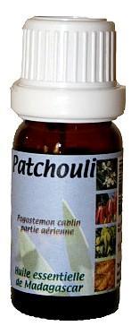 Patchouli (Huile essentielle), 10 ml