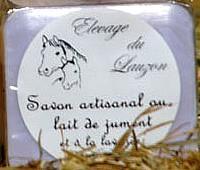 Savon lait de jument et lavande 100g, Hautes-Alpes