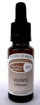 Composition n° 02 : Volonté, 20 ml, Hautes-Alpes, BIO