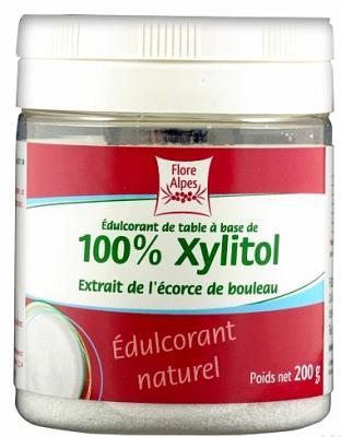 Sucre de bouleau, 100% xylitol, 200 g et 1 kg